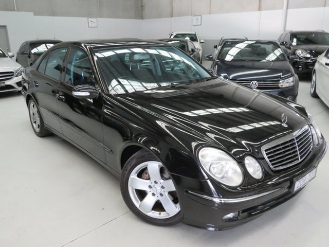 Used Mercedes-Benz E-Class W211 MY04 E500 Avantgarde Seaford, 2005 Mercedes-Benz E-Class W211 MY04 E500 Avantgarde Black 7 Speed Sports Automatic Sedan