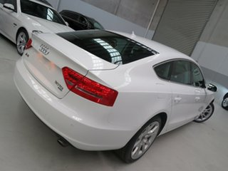 2011 Audi A5 8T MY11 Sportback S Tronic Quattro White 7 Speed Sports Automatic Dual Clutch Hatchback