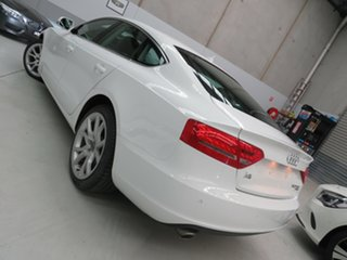 2011 Audi A5 8T MY11 Sportback S Tronic Quattro White 7 Speed Sports Automatic Dual Clutch Hatchback.