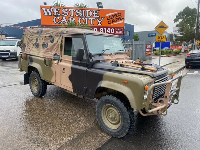 Used Land Rover One Ten 3.9 (4x4) Hoppers Crossing, 1989 Land Rover One Ten 3.9 (4x4) Camouflage 5 Speed Manual 4x4 Tray