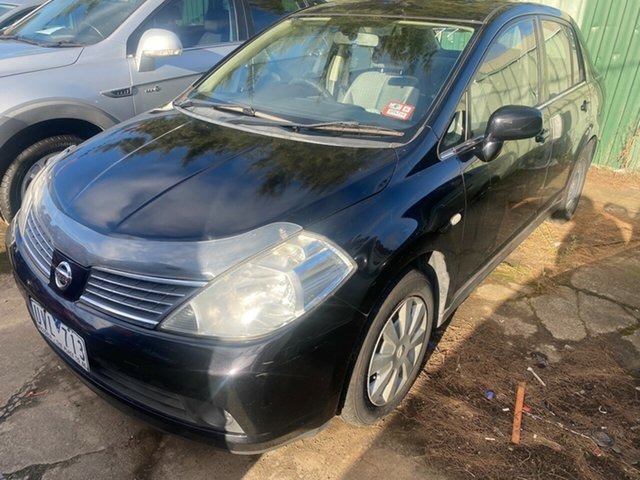 Used Nissan Tiida C11 MY07 ST Hoppers Crossing, 2007 Nissan Tiida C11 MY07 ST 4 Speed Automatic Sedan