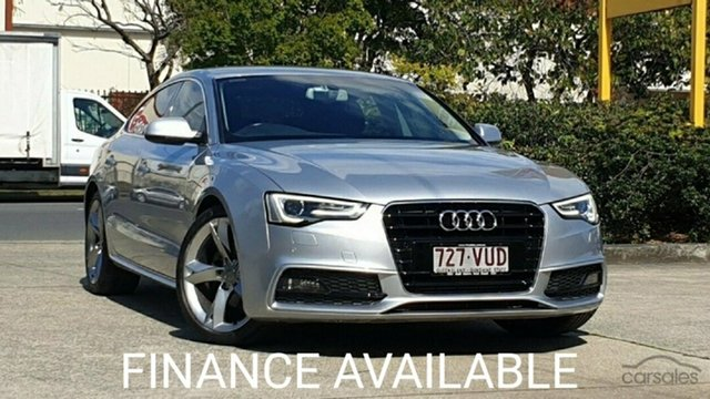 Used Audi A5 8T MY15 Sportback Multitronic Virginia, 2015 Audi A5 8T MY15 Sportback Multitronic Silver Metallic 8 Speed Constant Variable Hatchback