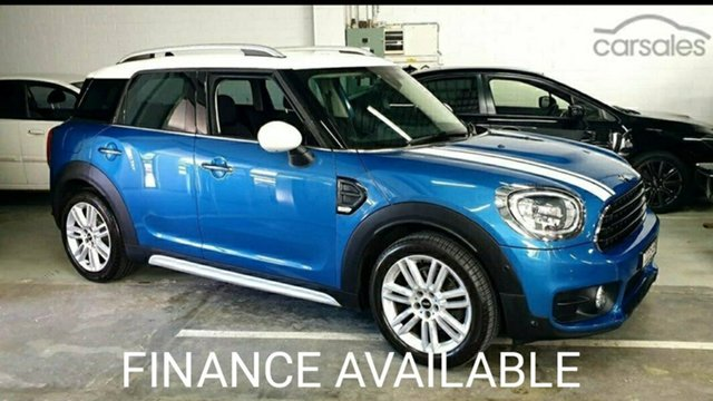 Used Mini Countryman F60 Cooper D Steptronic Virginia, 2017 Mini Countryman F60 Cooper D Steptronic Cosmic Blue 8 Speed Sports Automatic Wagon
