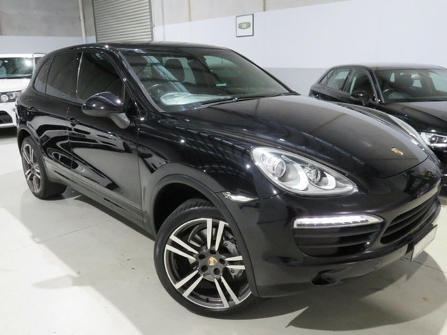 Used Porsche Cayenne 92A MY12 S Tiptronic Seaford, 2011 Porsche Cayenne 92A MY12 S Tiptronic Black 8 Speed Sports Automatic Wagon