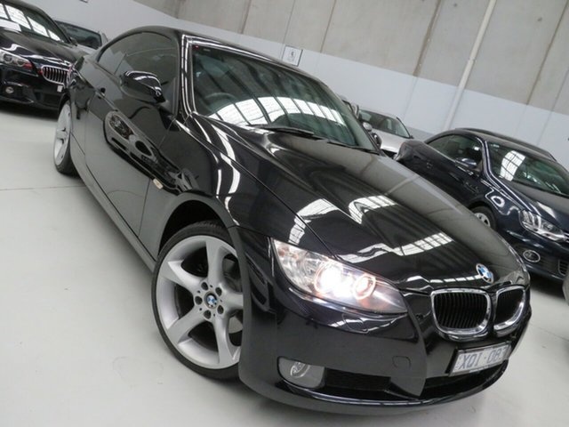 Used BMW 3 Series E92 MY10 320d Steptronic Seaford, 2010 BMW 3 Series E92 MY10 320d Steptronic Black 6 Speed Sports Automatic Coupe