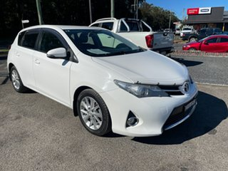 2015 Toyota Corolla ZRE182R Ascent Sport White 6 Speed Manual Hardtop.