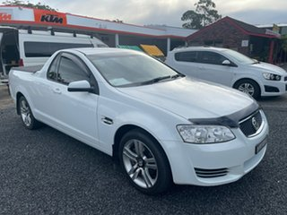 2012 Holden Commodore Ute VE II Omega White 6 Speed Automatic Utility.