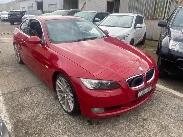Used BMW 325i E93 Hoppers Crossing, 2007 BMW 325i E93 Red 6 Speed Auto Steptronic Convertible