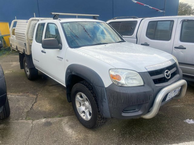 Used Mazda BT-50 09 Upgrade Boss B3000 Freestyle DX+ Hoppers Crossing, 2010 Mazda BT-50 09 Upgrade Boss B3000 Freestyle DX+ White 5 Speed Manual Cab Chassis