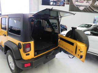 2015 Jeep Wrangler JK MY2015 Unlimited Overland Yellow 5 Speed Automatic Hardtop