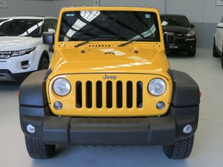 2015 Jeep Wrangler JK MY2015 Unlimited Overland Yellow 5 Speed Automatic Hardtop.
