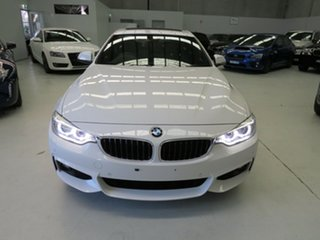 2016 BMW 4 Series F36 428i Gran Coupe M Sport White 8 Speed Sports Automatic Hatchback