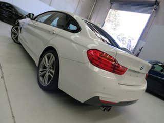 2016 BMW 4 Series F36 428i Gran Coupe M Sport White 8 Speed Sports Automatic Hatchback.