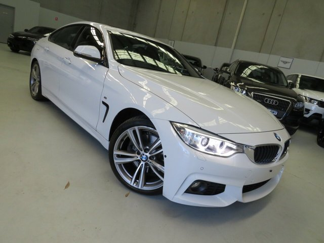 Used BMW 4 Series F36 428i Gran Coupe M Sport Seaford, 2016 BMW 4 Series F36 428i Gran Coupe M Sport White 8 Speed Sports Automatic Hatchback