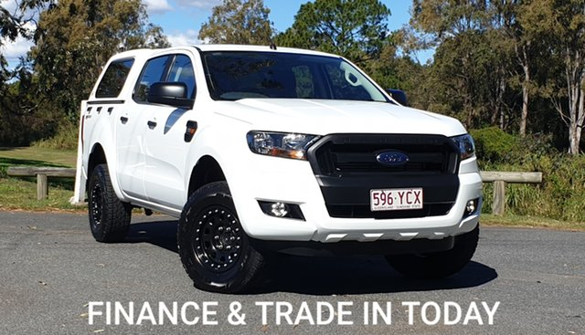 Used Ford Ranger PX MkII 2018.00MY XL Hi-Rider Virginia, 2017 Ford Ranger PX MkII 2018.00MY XL Hi-Rider Alpine White 6 Speed Sports Automatic Utility