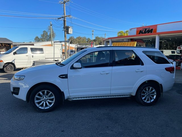 Used Ford Territory Diesel Coffs Harbour, 2016 Ford Territory Diesel White 6 Speed Auto Active Select Wagon