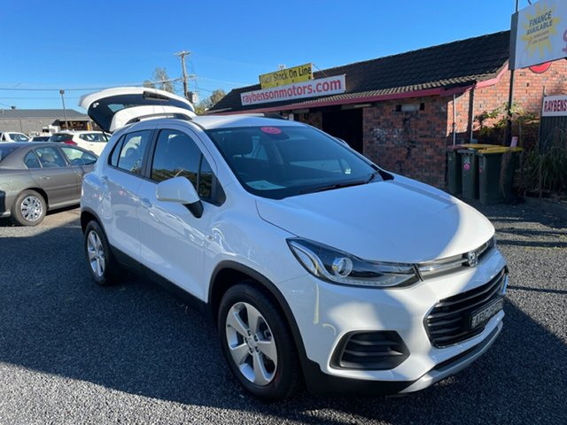 Used Holden Trax LS Turbo Coffs Harbour, 2019 Holden Trax LS Turbo White Automatic Wagon