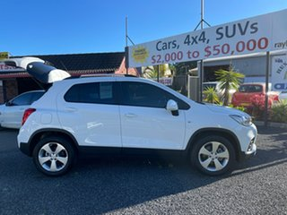 2019 Holden Trax LS Turbo White Automatic Wagon.