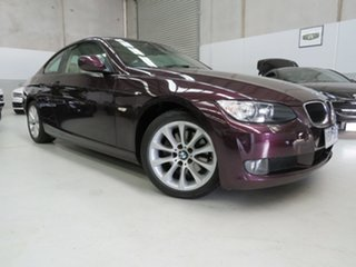 2009 BMW 3 Series E92 MY10 320d Steptronic Purple 6 Speed Sports Automatic Coupe.