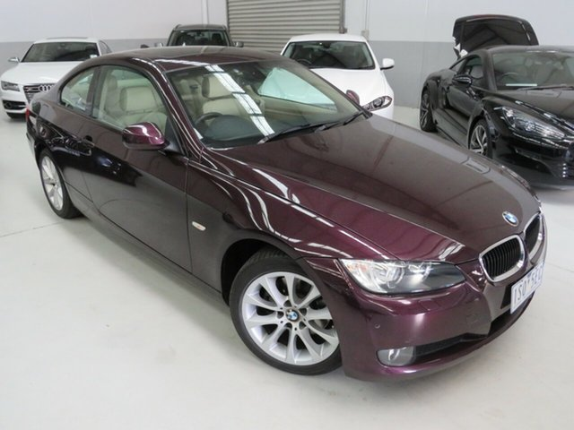 Used BMW 3 Series E92 MY10 320d Steptronic Seaford, 2009 BMW 3 Series E92 MY10 320d Steptronic Purple 6 Speed Sports Automatic Coupe
