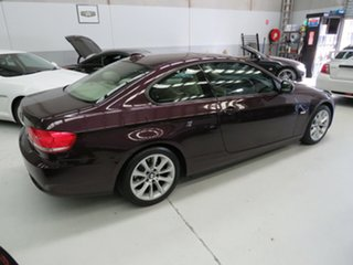 2009 BMW 3 Series E92 MY10 320d Steptronic Purple 6 Speed Sports Automatic Coupe