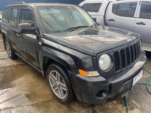 Used Jeep Patriot MK Sport Hoppers Crossing, 2009 Jeep Patriot MK Sport Black 5 Speed Manual Wagon