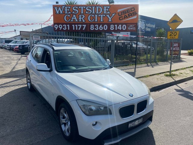 Used BMW X1 E84 MY11 xDrive 20D Hoppers Crossing, 2012 BMW X1 E84 MY11 xDrive 20D White 6 Speed Automatic Wagon