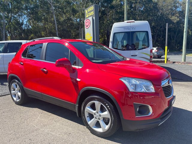 Used Holden Trax TJ Coffs Harbour, 2014 Holden Trax TJ LTZ 1.8 Red 6 Speed Automatic Wagon
