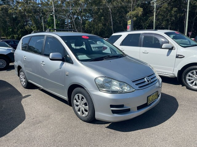 Used Toyota Avensis Coffs Harbour, 2006 Toyota Avensis VERSO GLX 7 SEATER AUTO Silver 4 Speed Automatic Wagon