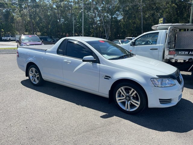 Used Holden Commodore Ute VE II Omega Coffs Harbour, 2012 Holden Commodore Ute VE II Omega White 6 Speed Automatic Utility