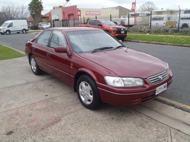 Used Toyota Camry MCV20R Conquest Klemzig, 2000 Toyota Camry MCV20R Conquest Maroon 4 Speed Automatic Sedan