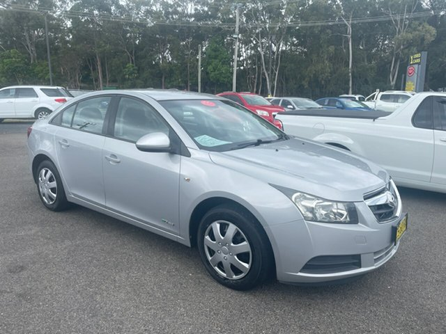Used Holden Cruze Coffs Harbour, 2009 Holden Cruze JD AUTO CD diesel Silver 6 Speed Automatic Sedan