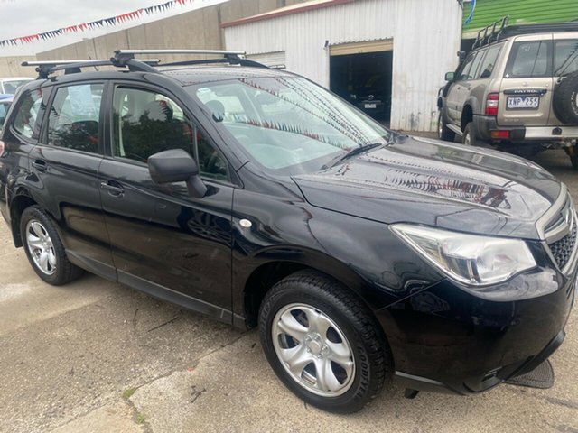Used Subaru Forester MY13 2.5I Hoppers Crossing, 2013 Subaru Forester MY13 2.5I Black Continuous Variable Wagon