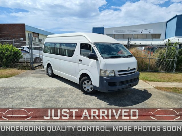Used Toyota HiAce TRH223R MY08 Commuter High Roof Super LWB Virginia, 2008 Toyota HiAce TRH223R MY08 Commuter High Roof Super LWB White 4 Speed Automatic Bus