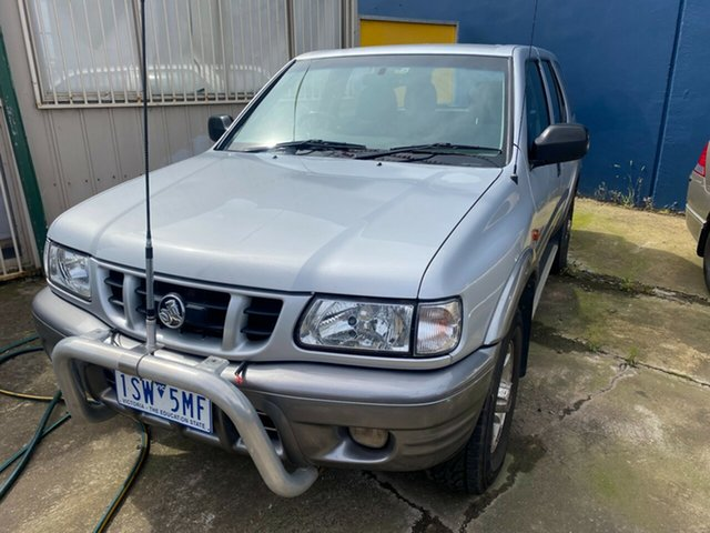 Used Holden Frontera MX S (4x4) Hoppers Crossing, 2000 Holden Frontera MX S (4x4) Silver 5 Speed Manual 4x4 Wagon