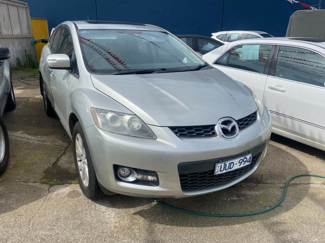 Used Mazda CX-7 ER Luxury (4x4) Hoppers Crossing, 2007 Mazda CX-7 ER Luxury (4x4) Silver 6 Speed Auto Activematic Wagon