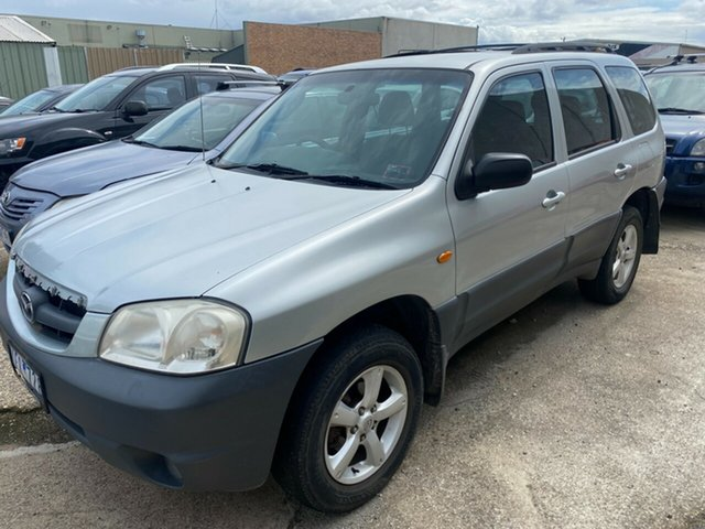 Used Mazda Tribute MY06 V6 Hoppers Crossing, 2006 Mazda Tribute MY06 V6 Silver 4 Speed Automatic Wagon