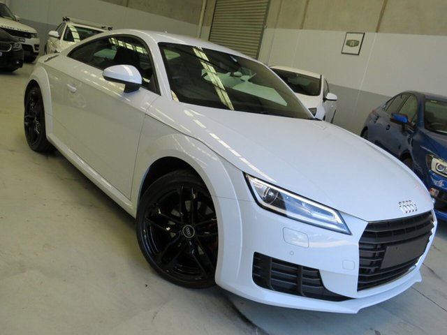 Used Audi TT FV MY15 Sport S Tronic Quattro Seaford, 2015 Audi TT FV MY15 Sport S Tronic Quattro White 6 Speed Sports Automatic Dual Clutch Coupe