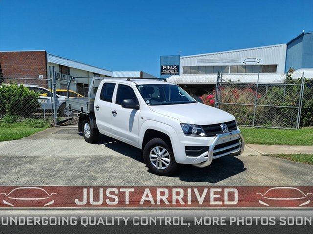 Used Volkswagen Amarok 2H MY18 TDI420 4MOTION Perm Core Virginia, 2018 Volkswagen Amarok 2H MY18 TDI420 4MOTION Perm Core White 8 Speed Automatic Cab Chassis