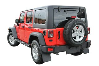 2015 Jeep Wrangler JK MY2015 Unlimited Sport Firecracker Red 5 Speed Automatic Softtop.