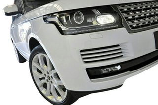 2013 Land Rover Range Rover LG MY14.5 Vogue V6 SC White 8 Speed Automatic Wagon
