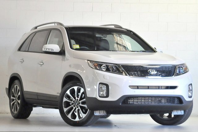 Demo Kia Sorento XM MY14 Platinum (4x4) Albion, 2015 Kia Sorento XM MY14 Platinum (4x4) Snow White 6 Speed Automatic Wagon