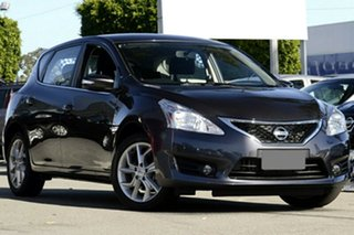 2013 Nissan Pulsar C12 ST-S Storm Grey Continuous Variable Hatchback.