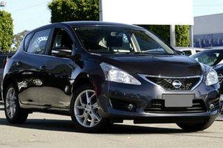 2013 Nissan Pulsar C12 ST-S Storm Grey Continuous Variable Hatchback.