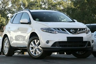 2014 Nissan Murano Z51 MY14 ST Ivory Pearl Continuous Variable Wagon.