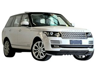 2013 Land Rover Range Rover LG MY14.5 Vogue V6 SC White 8 Speed Automatic Wagon.