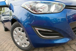 2014 Hyundai i20 PB MY14 Active Pristine Blue 4 Speed Automatic Hatchback