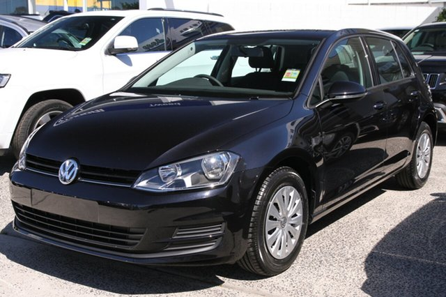 New Volkswagen Golf AU MY15 90 TSI, 2015 Volkswagen Golf AU MY15 90 TSI Deep Black Pearl Effect 6 Speed Manual Hatchback