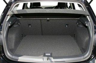 2015 Volkswagen Golf AU MY15 90 TSI Deep Black Pearl Effect 6 Speed Manual Hatchback.