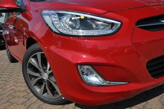 2014 Hyundai Accent RB3 SR Veloster Red 6 Speed Automatic Hatchback